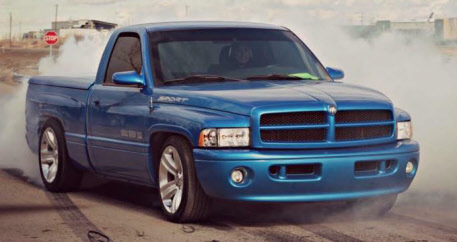 Crop Mike Isaac on 1997 Dodge Ram 1500 Lowered