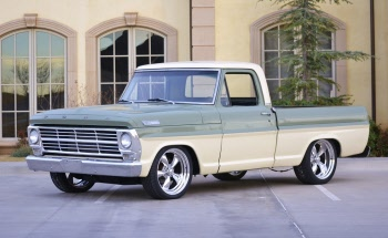 """1980-1981 Ford F-100 3/"""" Lowering I-Beams"""