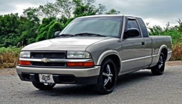 "Chevy S10 4/"" Drop Kit Blocks Truck Mini Rear Lowering Pickup"